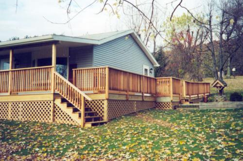 5) DECKS: Leisenring Cedar Deck
